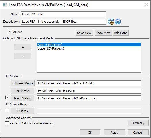 Tutorials > 3DCS FEA Compliant Modeler Tutorial > Add