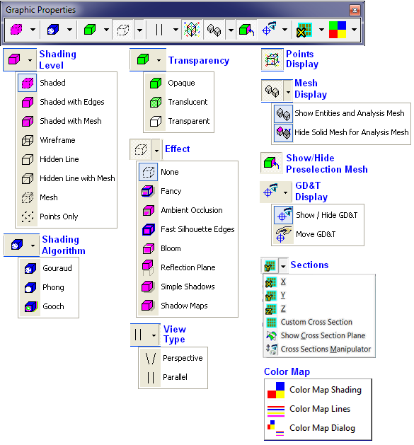 Multi-CAD > Multi-CAD General Information > Layout > Tabs